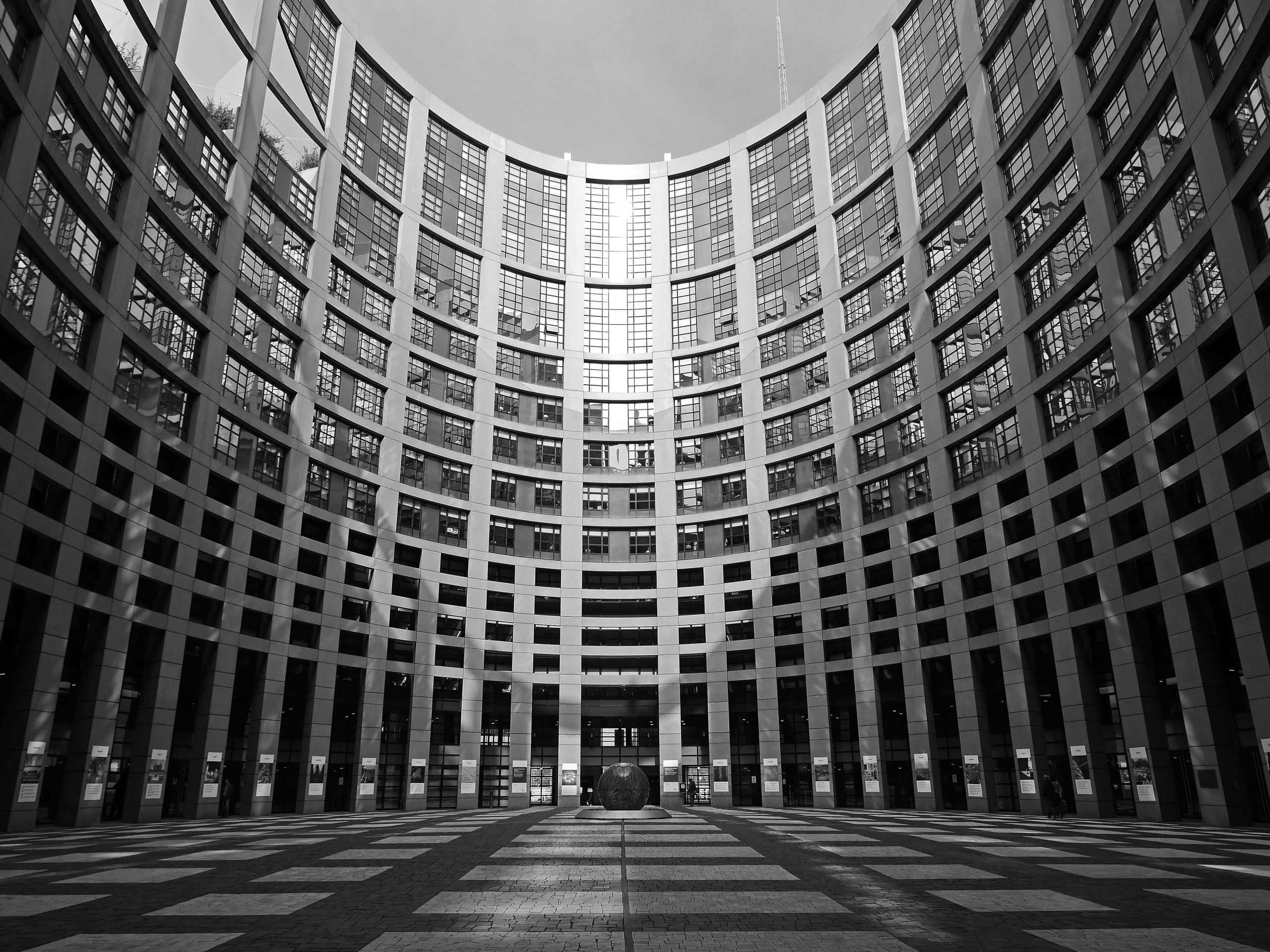 La cour du parlement européen